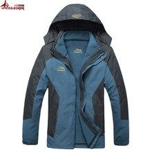 Plus size L~6XL,7XL,8XL outwear Waterproof Windproof Breathable Warm Winter Coat men parka