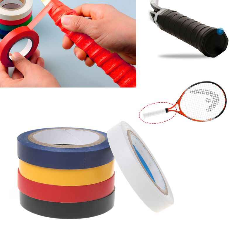 30m Tennis Badminton Squash Racket Grip Overgrip Compound Sealing Tapes Sticker Electrical Insulating Tape