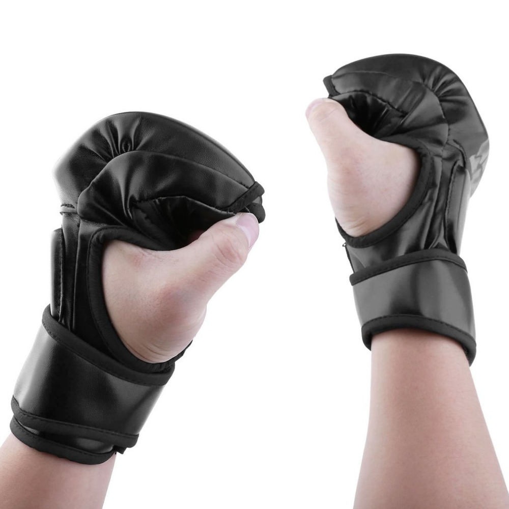 MMA Sparring Grappling Kampf Boxing Punch Ultimative Mitts Leder Handschuhe Geben Optimale Schutz in Training Wettbewerb