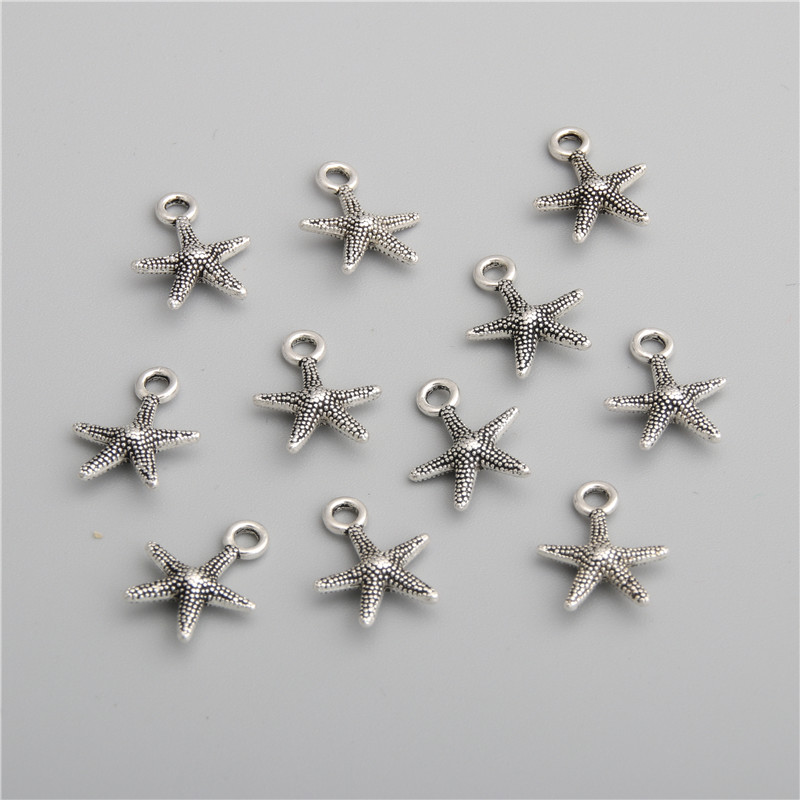 50Pcs Tibetan Silver Cup Charms Pendant Fit Jewelry Making 13x11mm