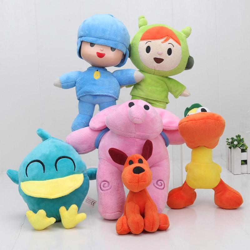 Pocoyo Stuffed Plush Toys Pocoyo Nina Pato Elly Plush toys Loula Elepant Dog Duck Animal Good Gift For Children