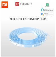 Xiaomi yeelight tira de luz inteligente mais casa inteligente wifi app controle remoto led luz banda extensão versão apoio costura|Controle remoto inteligente| |  -