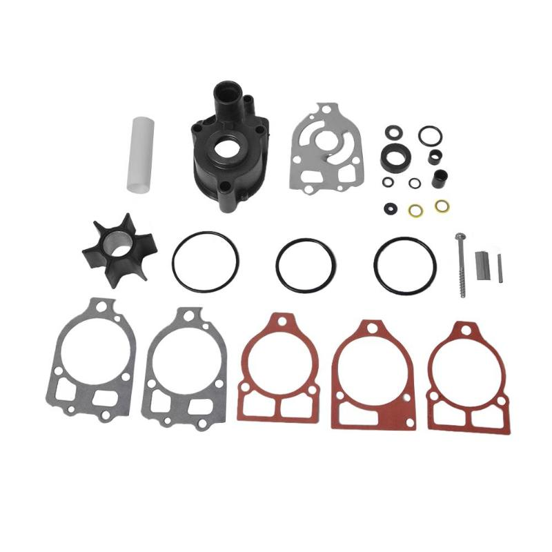 VODOOL Water Pump Impeller Repair Rebuild Kit Connection Tube Gasket Seal O Ring Accessories 46 96148A8 For Mercruiser Mercury