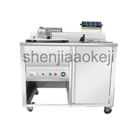 Commercial fryer French fries electric frying machine MLP 40LJPC 1080 mobile electric chicken steak snack car 220V 6000W 1pc