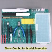 Набор инструментов для строительства модели, набор инструментов для Gundam, военная модель хобби, аксессуары для DIY, набор инструментов для шлифовки и полировки