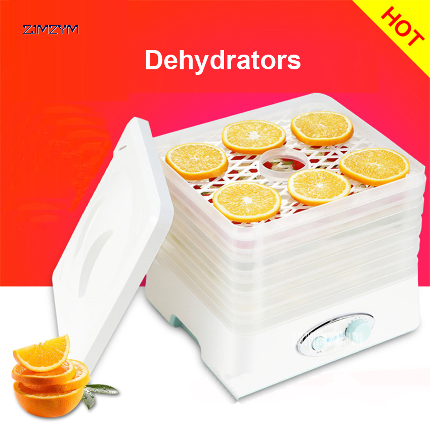 FD-760 Food Dehydrator Fruit Vegetable Herb Meat Drying Machine Snacks Food Dryer Fruit dehydrator with 5 trays 200-250W power professional pet food dehydrator fruit and vegetable snacks dryer machine food processor drying fish