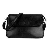 Women Girl Real Leather Coin Purse Cell Phone Pouch Wallet Shoulder Bag Messenger Crossbody Clutch Bag