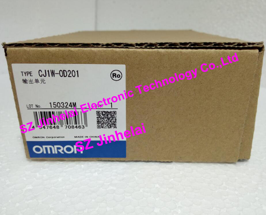 New and original CJ1W-OD201 OMRON PLC OUTPUT UNIT new and original e3x da11 s omron optical fiber amplifier photoelectric switch 12 24vdc