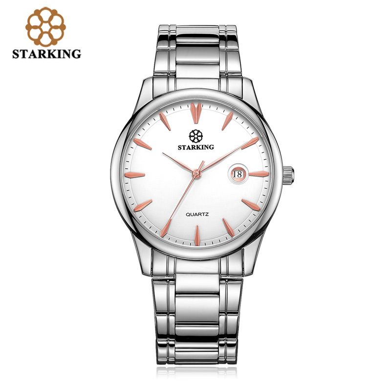 Image 3 - Starking Brand Mens Quartz Watch Imported Japan Movement Watch 316l Stainless Steel Auto Date Fashion Casual Men Watch BM0972watch brandwatch stainlesswatch stainless steel -