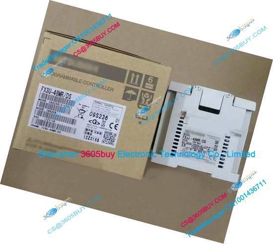 New Original FX3U-64MT PLC Main Unit DI 32 DO 32 Transistor 24V DC
