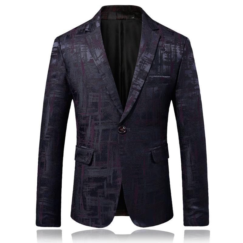 Mens British Plaid Handsome Wedding Suits Blazers Male Groom Business Casual Slim Fit Dress Dropshipping Hot Sale Suit Plus 5XL