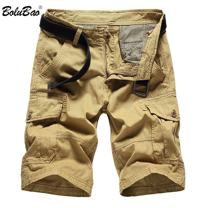 BOLUBAO 2018 New Spring Shorts Men Casual Design High Street Men Shorts Military Fashion Cargo Shorts Male Clothing
