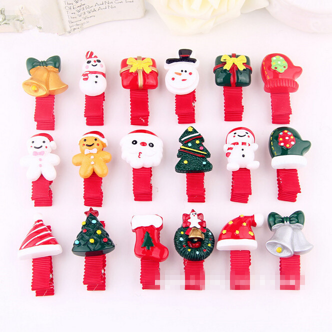 Hot Sale Baby Hair Snap Clips accessories for women Red Christmas gift Barrettes Head hairpins headwear hair accessories Jewelry 24pc hair styling braid hair snap clips for girls headwear hair ornaments black snap hairgrips hairclip barrettes hairpins clips