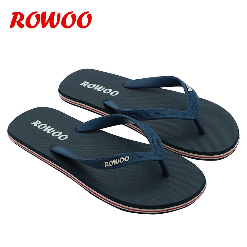 Rowoo New Design atpūtas stila modes vīriešu gumijas izturīgs V - Vīriešu apavi