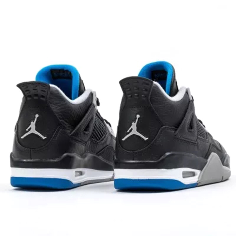 quality design e891b 4fdd5 Official Original Nike Gs Air Jordan 4 Blue Women Basketball Shoes Sneakers  Sport Outdoor Breathable Medium Cut Thread 408452-in Basketball Shoes from  ...