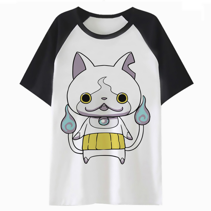 Yo-Kai Watch t shirt clothing tops kawaii t-shirt graphic female tshirt femme harajuku cartoon women tee K3119