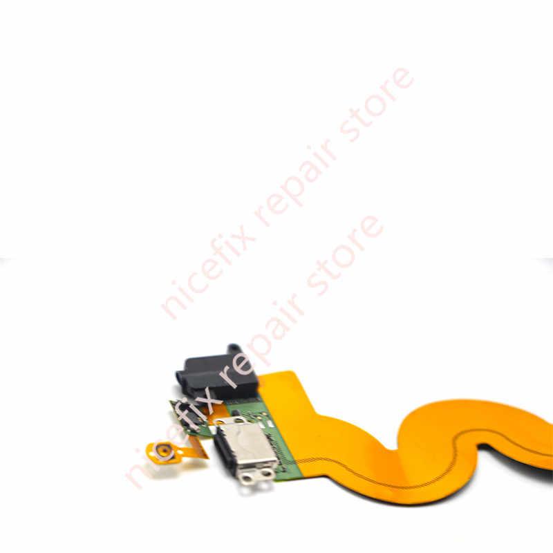 Nowa ładowarka USB stacja do ładowania Audio portu gniazdo słuchawkowe przycisk Home Flex kabel do iPoda Touch 5 5th Gen czarny