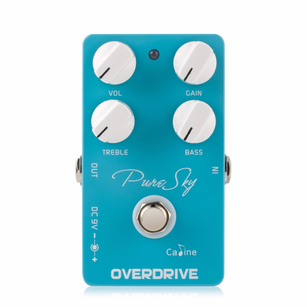Caline Pure Sky OD Guitar Pedal Effect CP-12 Highly Pure and Clean Overdrive Guitar Pedal Guitar Accessories Effect Pedal Parts
