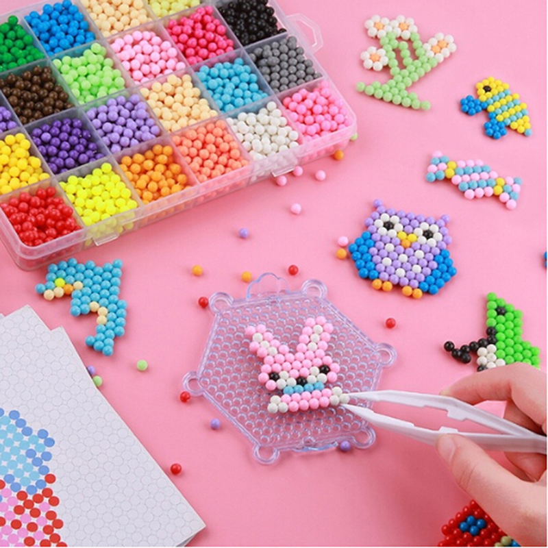 Perler Beads Multicolor Bag