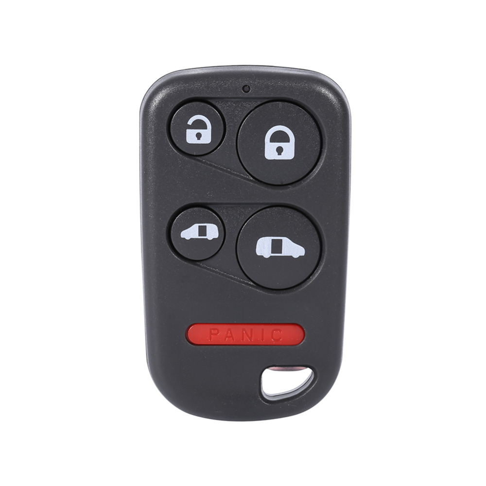 Car styling 5 buttons remote auto car key fob shell case for honda odyssey