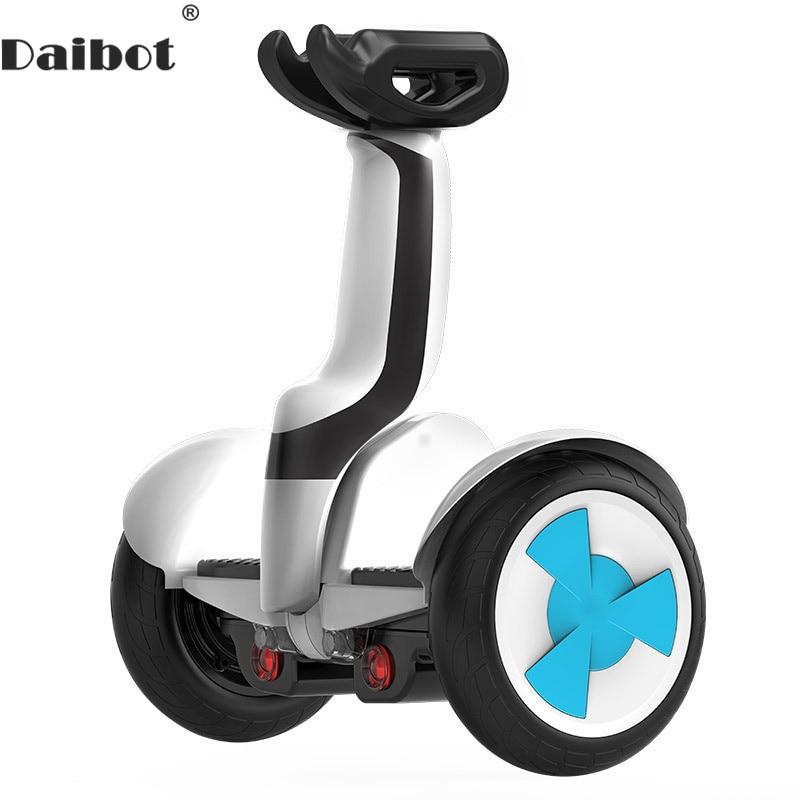 Daibot Scooter électrique adultes deux roues auto équilibrage Scooters 10 pouces 54V 700W Balance intelligente Hoverboard avec Bluetooth/APP