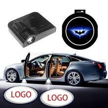 1 adet kablosuz LED araba kapı hoşgeldiniz lazer projektör logosu hayalet gölge gece lambası Opel Volkswagen Ford BMW Toyota hyundai Kia