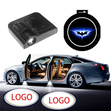 1pcs Wireless LED Car Door Welcome Laser Projector Logo Ghost Shadow Night Light for Opel Volkswagen Ford BMW Toyota Hyundai Kia