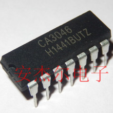 50pcs/lot CA3046 DIP General Purpose NPN Transistor Arrays NEW. все цены