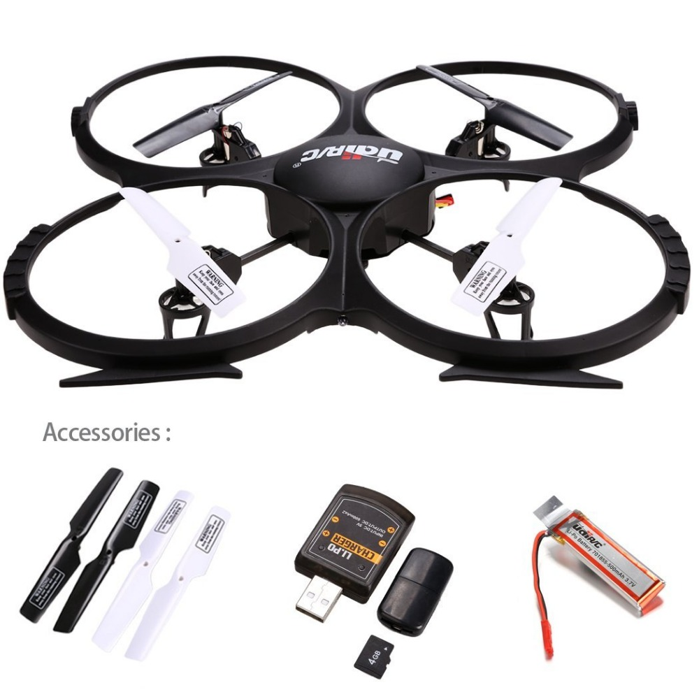 UDI U818A HD 2.4GHz 4CH 6 Axis Gyro Headless Mode RC Quadcopter Drone w/ HD 2MP Camera, Extra Battery and Return Home Function mini rc drone jjrc h30ch 2 4ghz 4ch 6 axis gyro quadcopter headless mode drone flying helicopter with 2 0mp hd camera gifts zk40