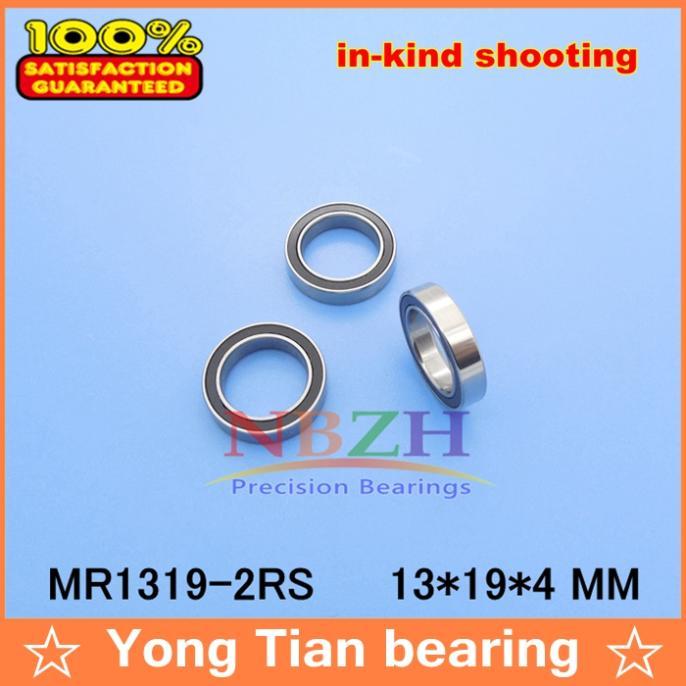 20 PCS 13*19*4 mm MR1319 2RS ET1913-2RS ABEC-5 Blue Rubber Seals bearing Model bearing MR1319-2RS коньки onlitop abec 5 35 38 blue 869370 защита