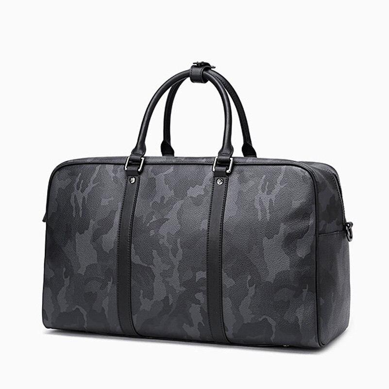 Preferiti delle donne di Grande capacità borse borsa da viaggio Damier canvas keepall borsa breve viaggio Messenger bag Crossbody borse