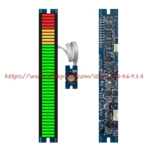 New DB table module Voltage meter / power amplifier / volume display Four segment 40 display status Light module цена