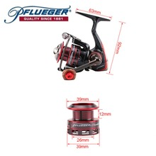 Pflueger PRESLESP 20 25 30 Spinning Fishing Reel Salt Fresh Water 170g 7BB 10BB 5.2:1 with graphite material Fishing Gear