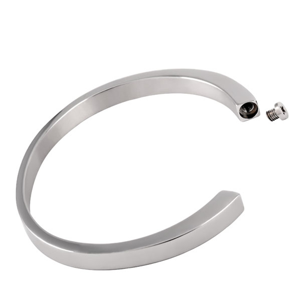 CMB5015 Wholesale Cheap Cremation Urn Cuff Bracelet For Ashes Stainless Steel Remembrance Memorial Jewelry Bangles-in Bangles from Jewelry & Accessories    1