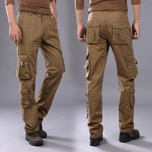 2017 Топ Мода multi-карман тактические брюки-карго мужские армейские SWAT Военный брюки стрейч Пейнтбол Militar повседневные штаны