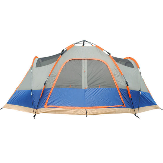 4 Season Outdoor Automatic Tent C&ing 5-6 Persons Double Layer Family Tents Waterproof Beach  sc 1 st  AliExpress.com & 4 Season Outdoor Automatic Tent Camping 5 6 Persons Double Layer ...