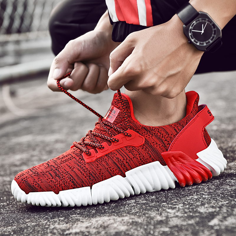 c345dd8c0ada0 New Men Running Shoes Ultra-light Damping Women Jogging Sneakers Outdoor  Yeezys Air Boost 350