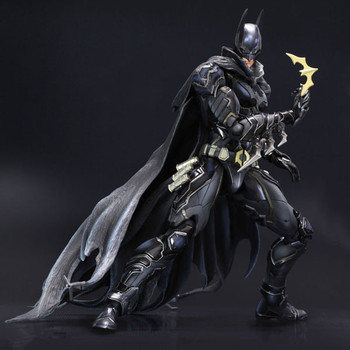 Huong Movie Figure 27 CM PLAY ARTS KAI Batman Variant blue-Blue Vlack Limited Ver. PVC Action Figure Collectible Model Toy