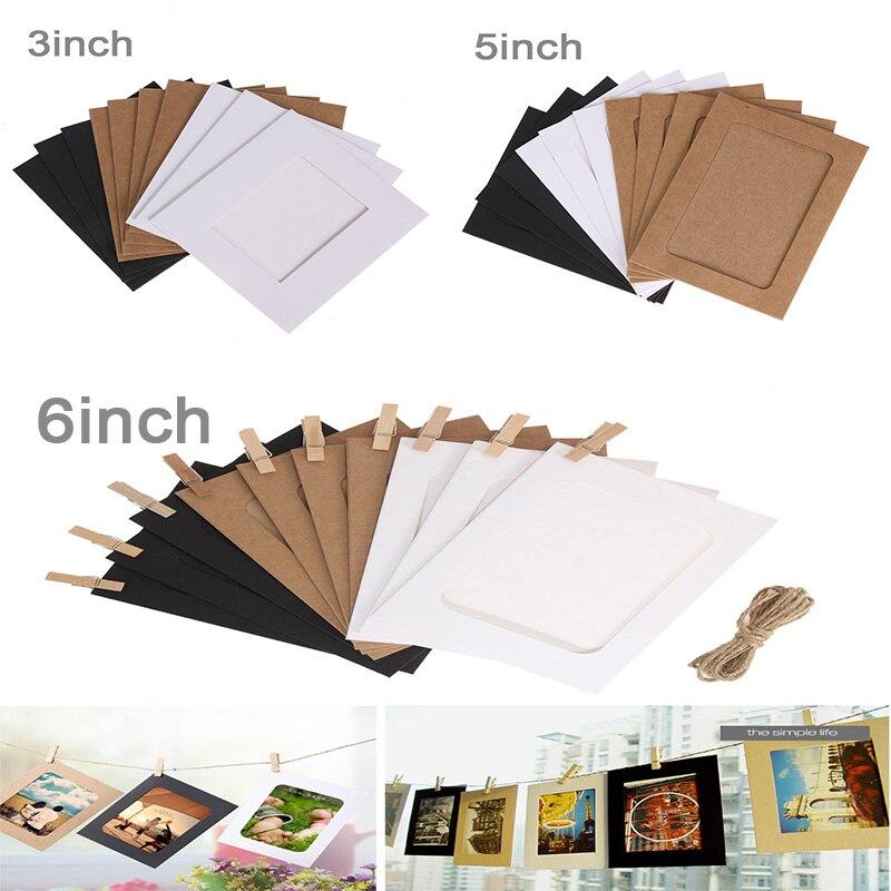 F225 kreative DIY fotorahmen wand hängen von papier kombiniert mit ...