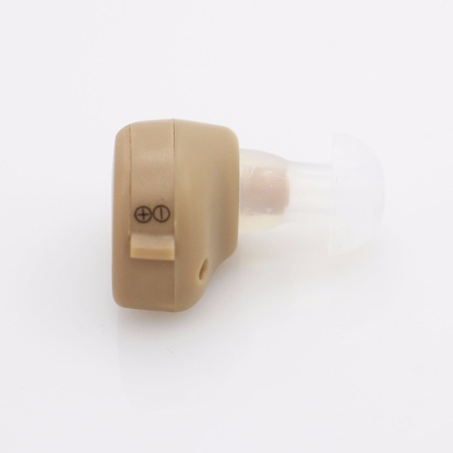 NEW Best Sound In-ear Amplifier Super MINI Hearing Aid Aids device Adjustable Tone personal ear care tools High quality Gift 3