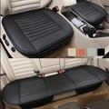 3Pcs Auto Car Vehicle Interior PU Leather Seat Cushion Cover Universal Set
