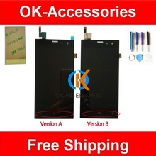 For Highscreen Zera S (rev.S) LCD Display+Touch Screen Digitizer Assembly  With Tools And 3M Adhsive Tape 1PC /Lot