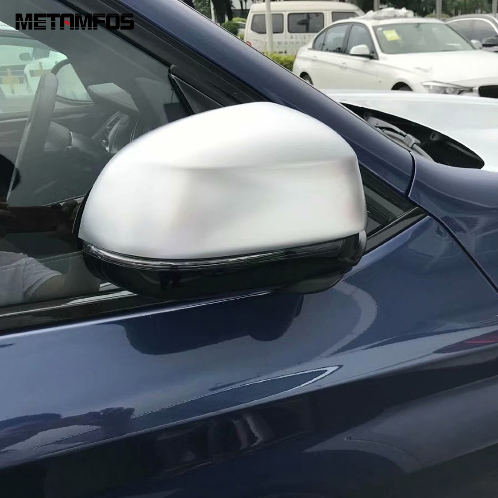 For <font><b>BMW</b></font> <font><b>X3</b></font> <font><b>G01</b></font> 2018 2019 <font><b>Carbon</b></font> Fiber Rearview Side View Door Mirror Cover Trim Protection Cap Exterior Accessories Car Styling image