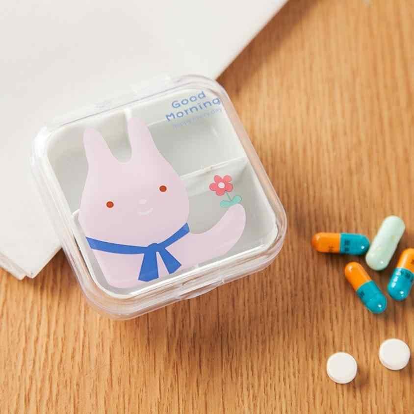 الكرتون حبة صندوق السفر حبة صندوق الفاصل منظم حبوب صندوق دواء القاطع 7 يوم حبوب منع الحمل الحاويات Pastillero # TX4