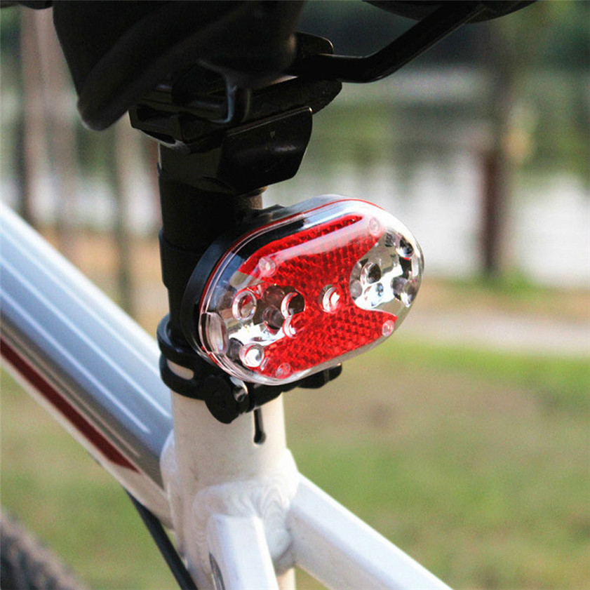 High Quality New Bright Bike Bicycle Cycling 9 LED Flashing Light Lamp Safety Back Rear Tail