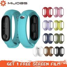 Mijobs Mi Band 3 Strap Aurora Wrist strap for Xiaomi Mi band 3 Strap Silicone Mi Band 3 Bracelet Smart Watch Accessories Correa