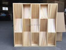 1box 2pcs 60x60x7cm professional studio/recording room QRD Sound diffusers ceiling acoustic panel  diffuser