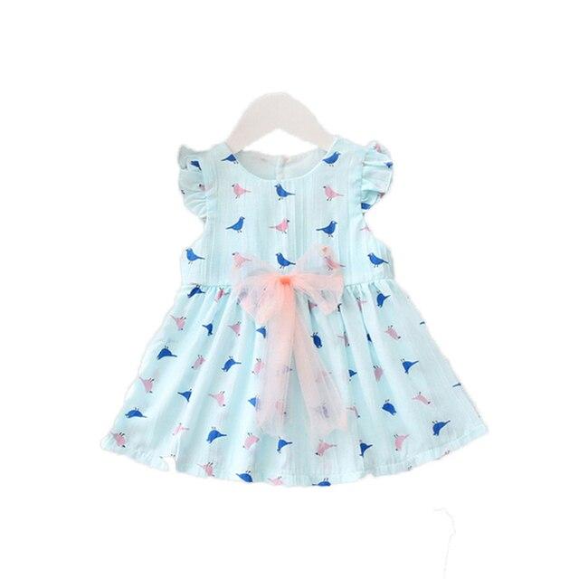fcf2b3fd5948 Girls Dresses Toddler Infant Baby Girls Summer Dress Princess Party ...