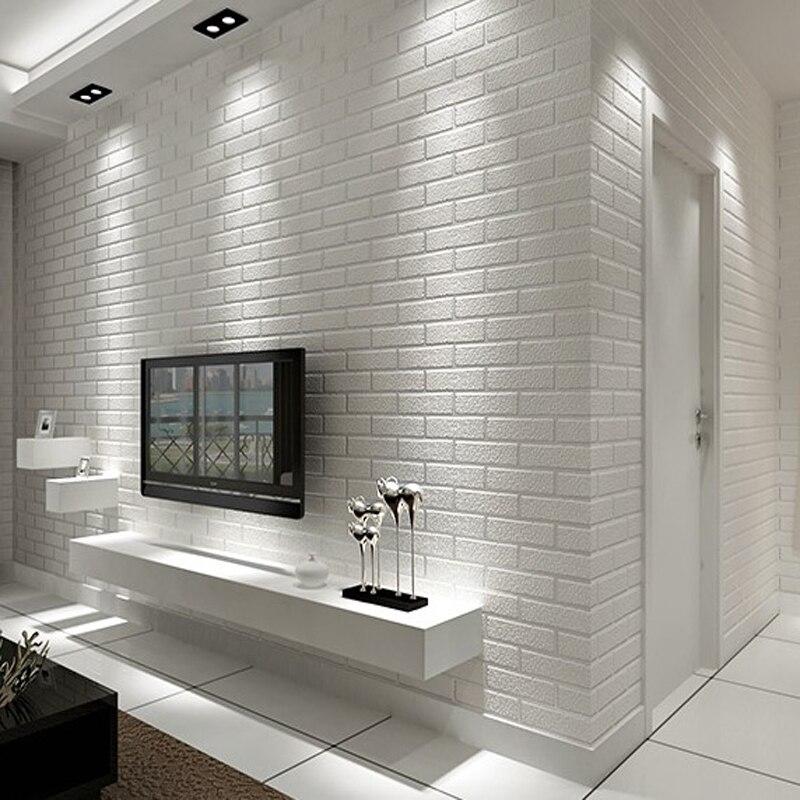 стена из белых кирпичиков