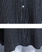 Printemps Été Irrégulière Longues Femmes Chemisier En Mousseline de Soie Noir À Manches Longues Dames De Mode Hauts Casual Mince Grande Taille Chemise Blusa